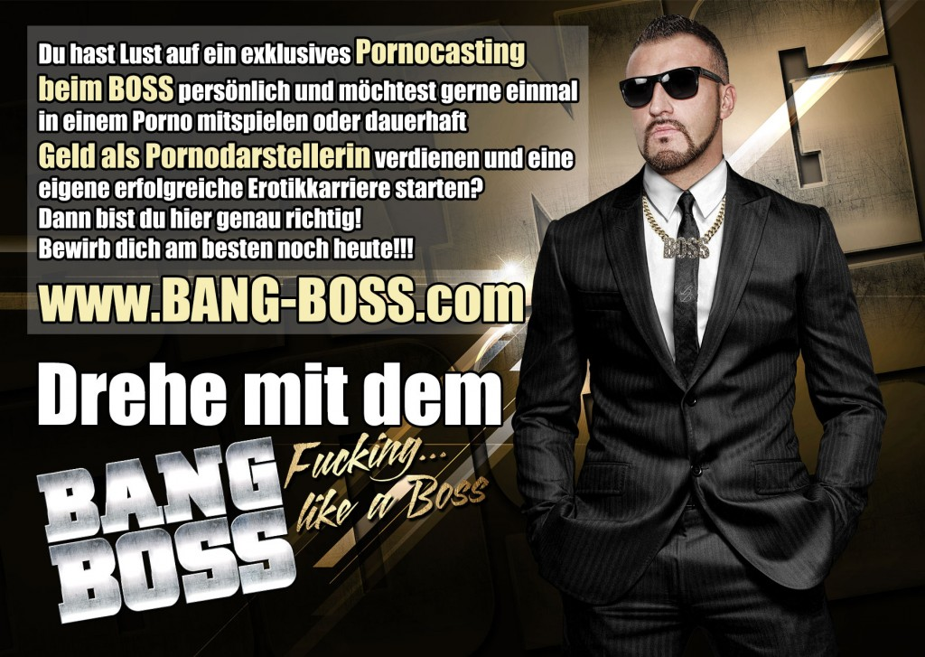 pornocasting beim bang boss in berlin