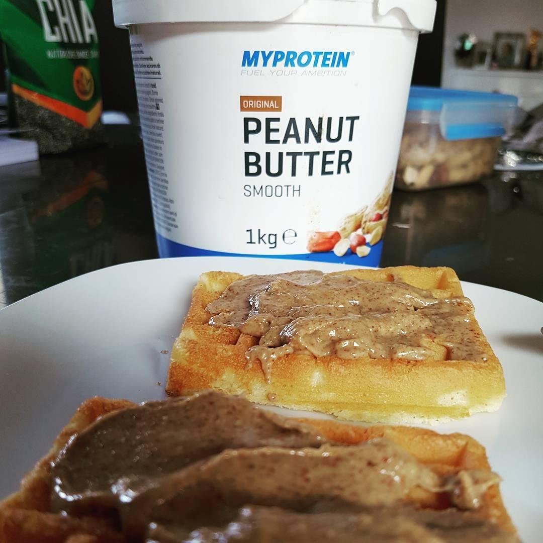 Frühstück… #myprotein #peanutbutter #mcfit #fitnessfirst #superfit #crunchfit #berlin