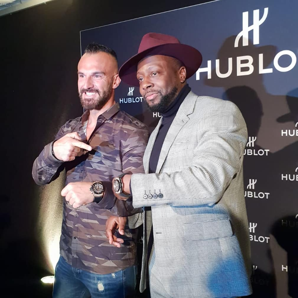 Exklusives Hublot Vip Event zum 5 jährigen Geburtstag der Hublot Boutique München mit Wyclef Jean als Stargast inkl. Livekonzert. Es war megageil! . #hublot #münchen #munich #vip #event #party #live #concert #wyclefjean #star #rnb #rap #rapper #luxury #gold #36k #watch